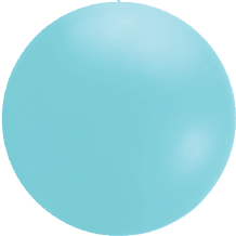 Giant Cloudbuster Balloon - 5.5ft Icy Blue